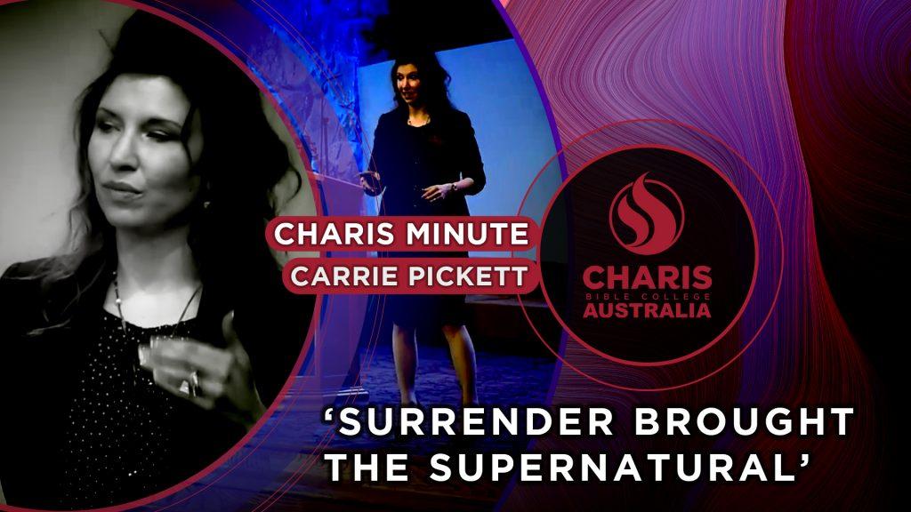 Surrender brought the Supernatural