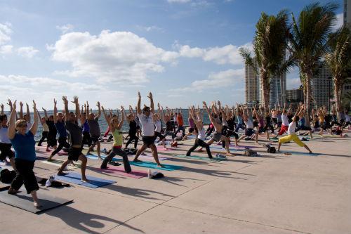 Bayfront Park in Miami