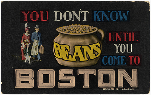 A postcard from 1911. Courtesy of Boston Public Library.