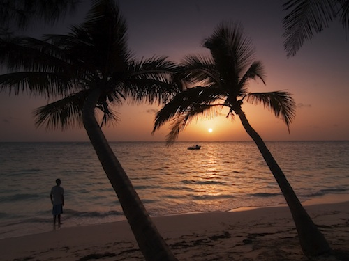 Sunrise in Punta Cana. Courtesy of Sasvata (Shash) Chatterjee.