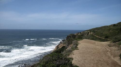The hike to Alamere Falls in Point Reyes National Seashore in California. Courtesy of Alexi Ueltzen.