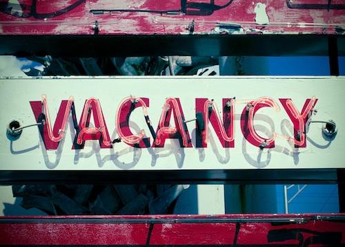 Vacancy. Courtesy of Lauren Mitchell.