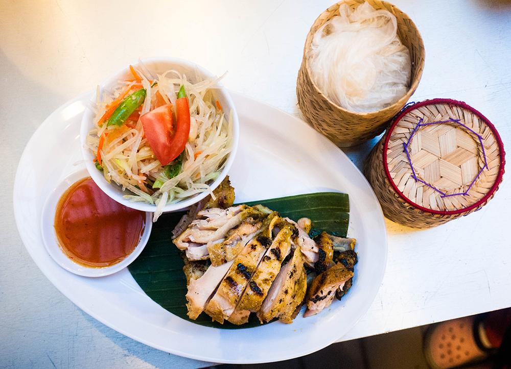 Sticky rice; Photo credit: Amparo Rios