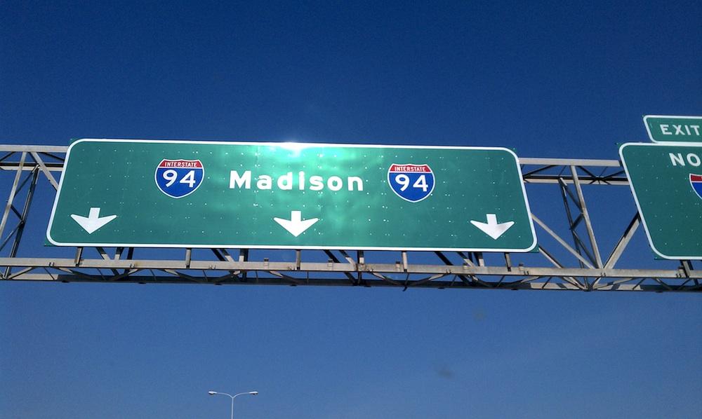 The drive to Madison. Courtesy of Sarah Kolb-Williams at www.kolbwilliams.com/.