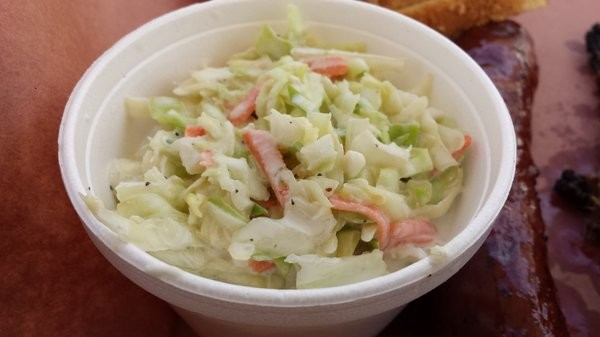 Blue cheese coleslaw; Photo courtesy of Yelp