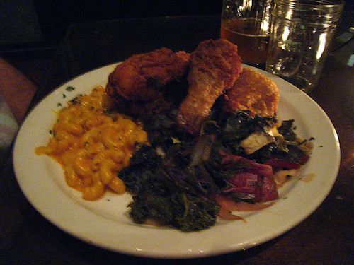 Dig into some comfort food at Farmerbrown. Credit star5112/Flickr.