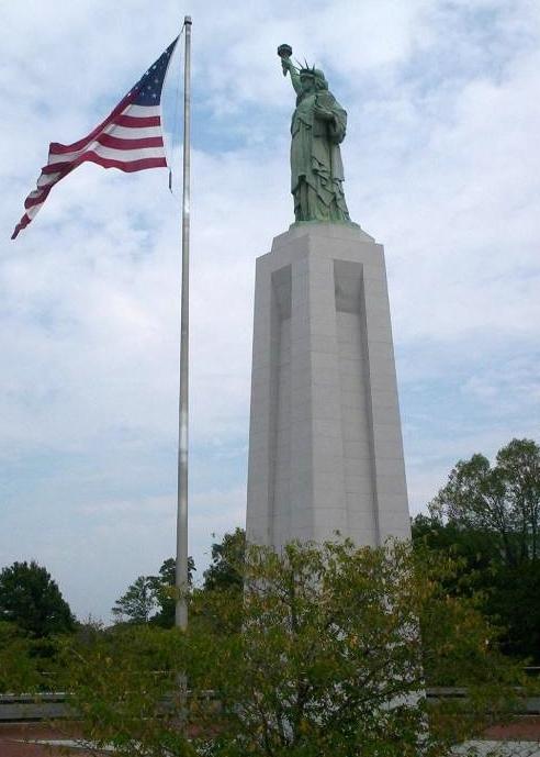 Statue of Liberty replica in Birmingham, Alabama. Credit Wikipedia.