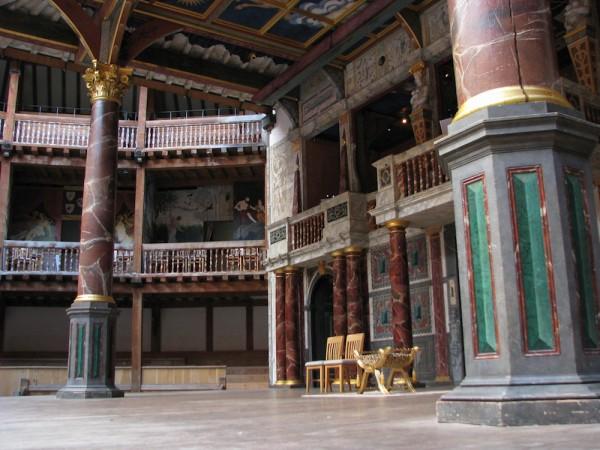 London- Inside the Globe Theatre
