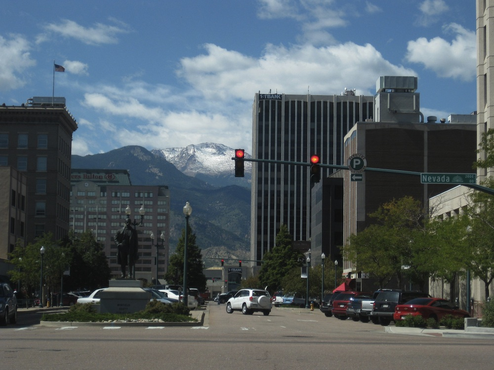 Downtown Colorado Springs. Courtesy of Phillip Stewart.