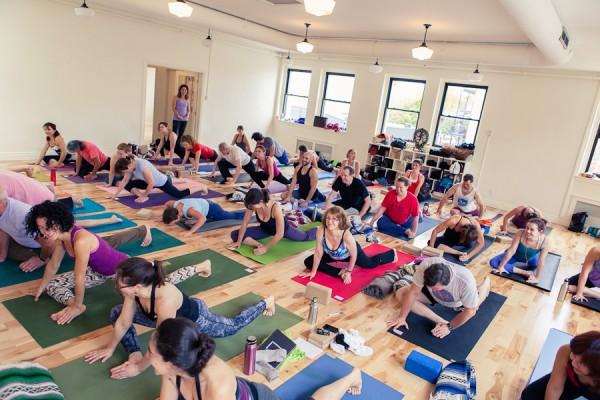 Take up yoga