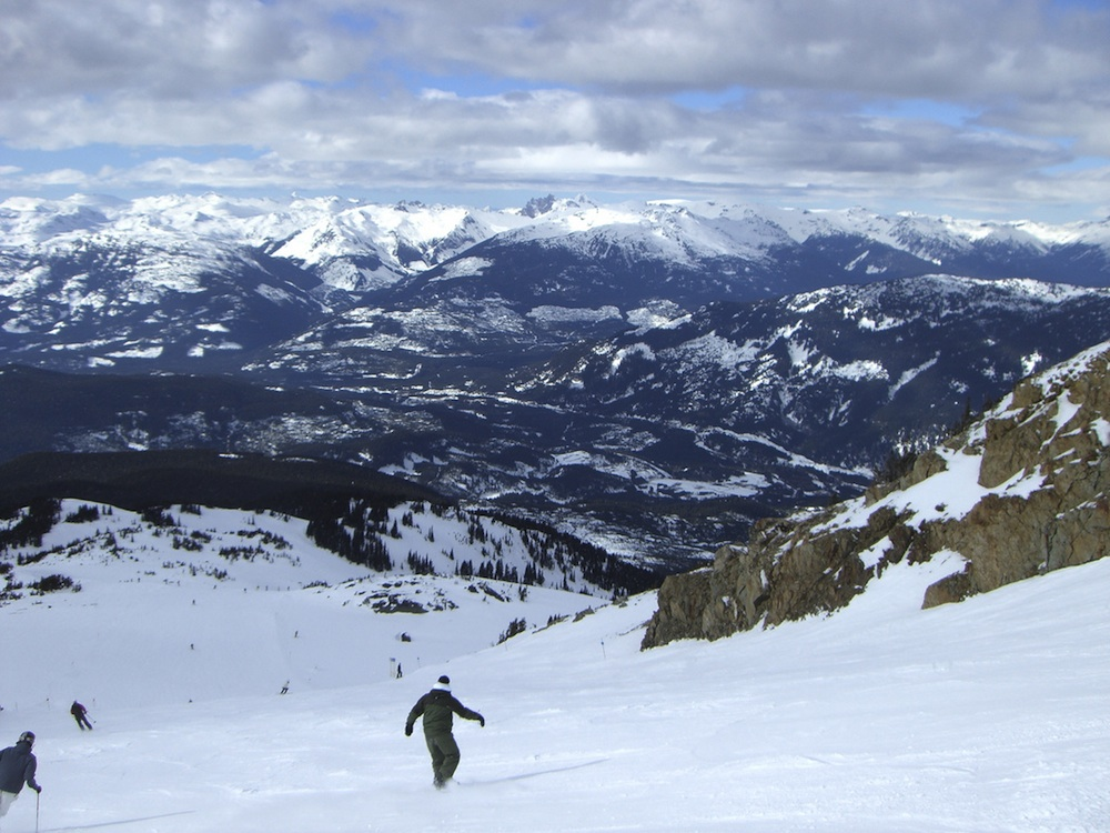 Whistler mountain views