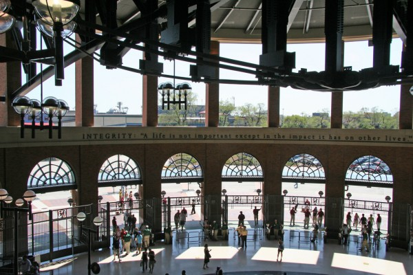 Jackie Robinson Rotunda in Citi Field, NYC