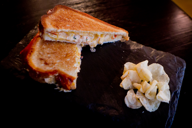 Maine Lobster Grilled Cheese