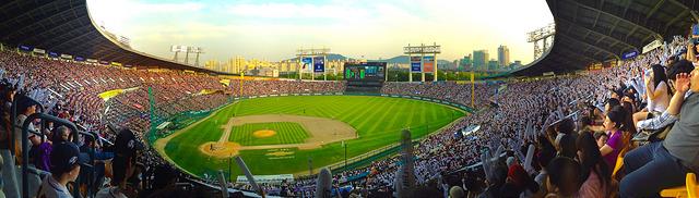 Jamsil Baseball Stadium Seoul