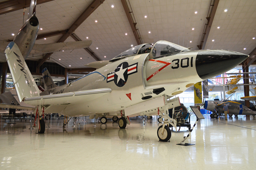 When will kids be bored at the National Aviation Museum in Pensacola? When pigs fly. Credit: Alan Wilson/Flickr.