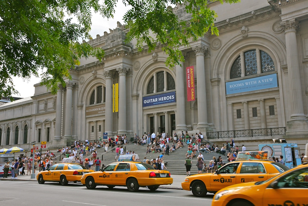Kids can take a huge bite out of the Big Apple, starting with the Met. Credit: Wikipedia.