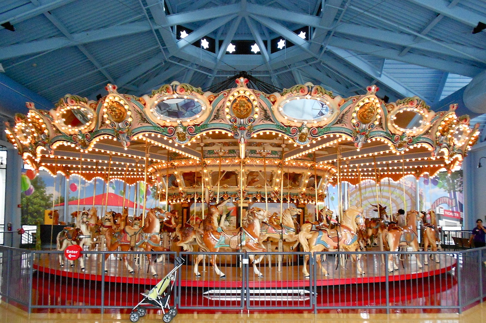 At Philly's Please Touch Museum, nothing is of-limits—not even the iconic 1908 carousel.