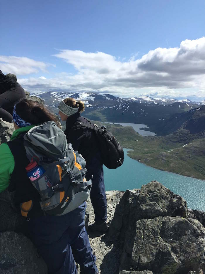 Research, Jotunheimen Bessegen Ridge, Norway