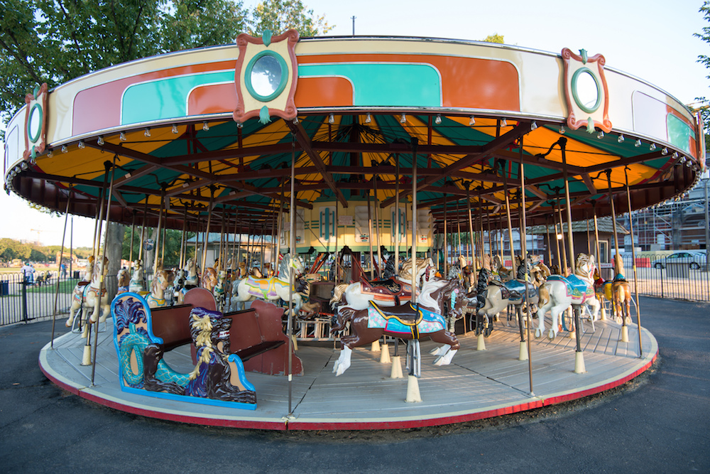 The Carousel ride on the National Mall is an American icon. Credit Robert Lyle Bolton/Flickr Creative Commons.