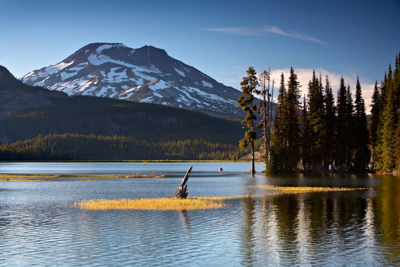 A lake in Bend, Oregon