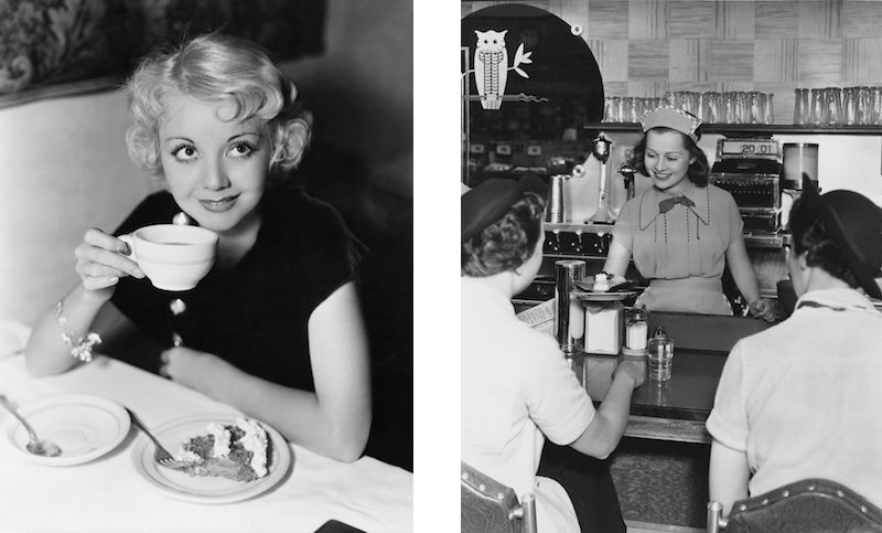 Vintage diner photos