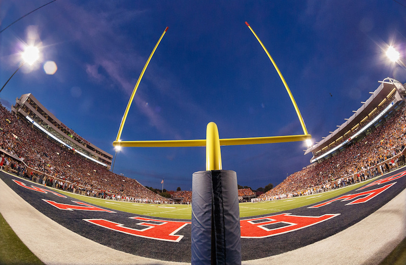 Photo: Field goal posts | Tate Nations, Flickr CC