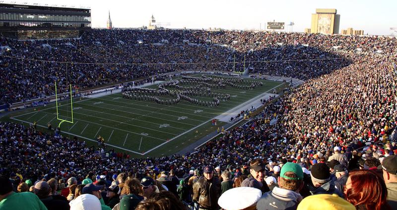 Photo: Notre Dame vs Syracuse | Christopher Aloi, Flickr CC