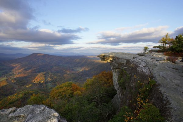 The stunning view from McAfee Knob is part of why it's one of the most photographed spots along the Appalachian Trail. Photo credit: Bruce Henderson and Visit Virginia's Blue Ridge.
