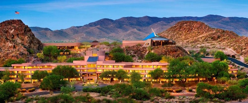 The official (and sprawling) hotel of Fiesta Bowl 2016.