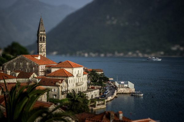 When you visit Montenegro, don't miss the medieval-looking St. Nicholas Church in Perast!