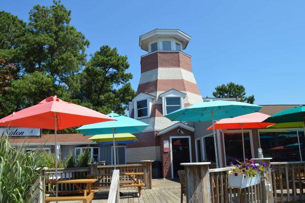 The Island Creamery, taking inspiration from the Assateague lighthouse. Photo credit: Alexandra Olsen