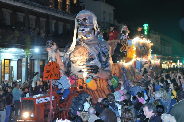 The terrifying and fun parade floats alone are enough reason to attend the New Orleans Halloween parade. The city's sordid and mysterious past only fuels the party, making it one of the best Halloween festivals anywhere.