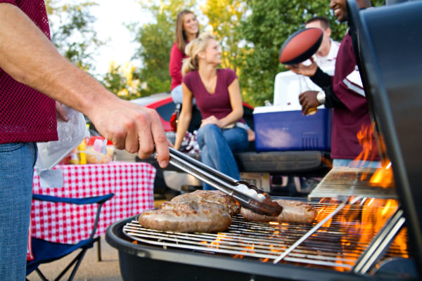 Home Depot, tailgating, barbecue