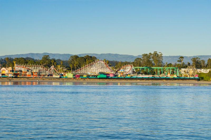 Santa Cruz Boardwalk, California, beaches