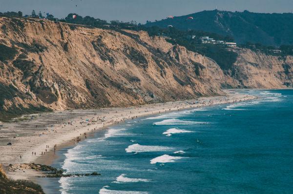 Black's Beach, San Diego, California