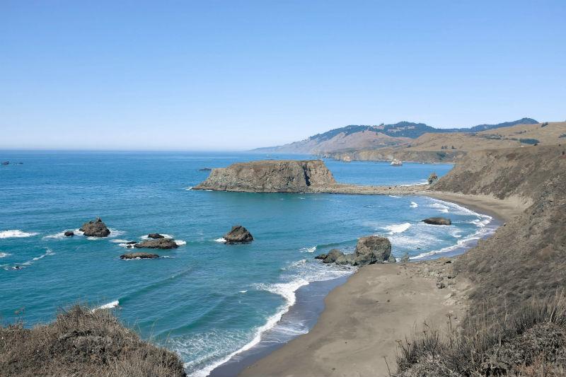 Goat Rock Beach, Sonoma County, California, beaches