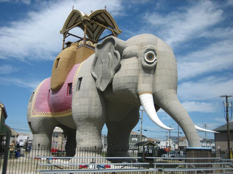 Lucy the Elephant, Atlantic City