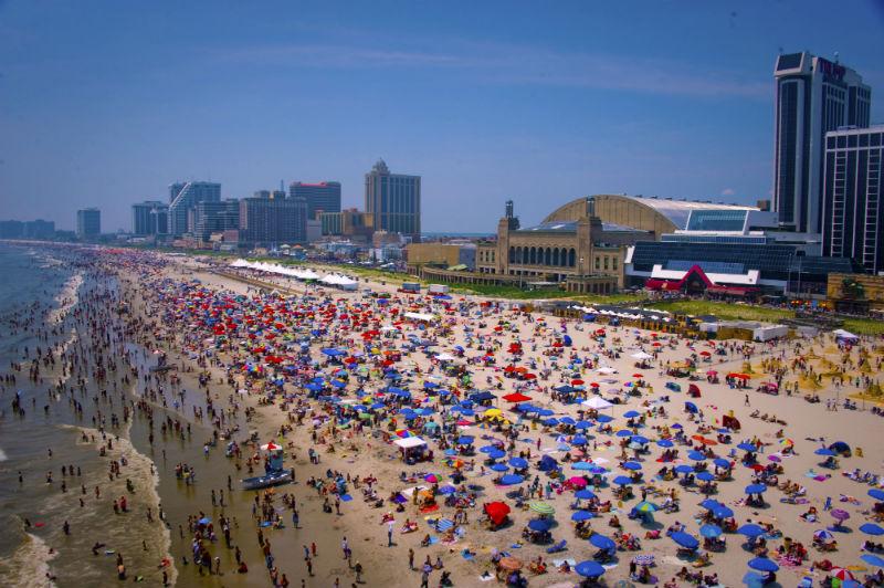 beach, Atlantic City, New Jersey