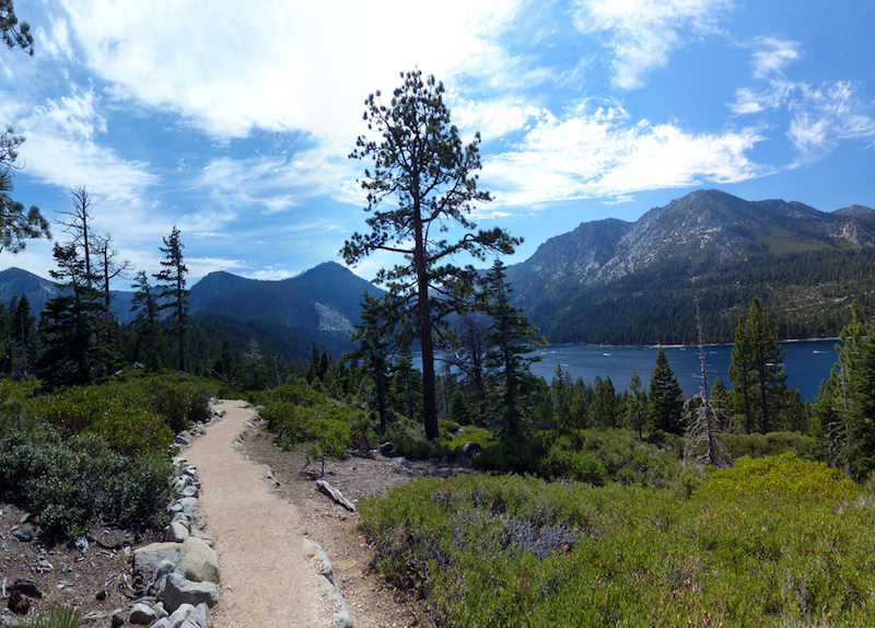 This scene is from the beautiful South Lake Tahoe in California. Photo taken a summer day in 2014.