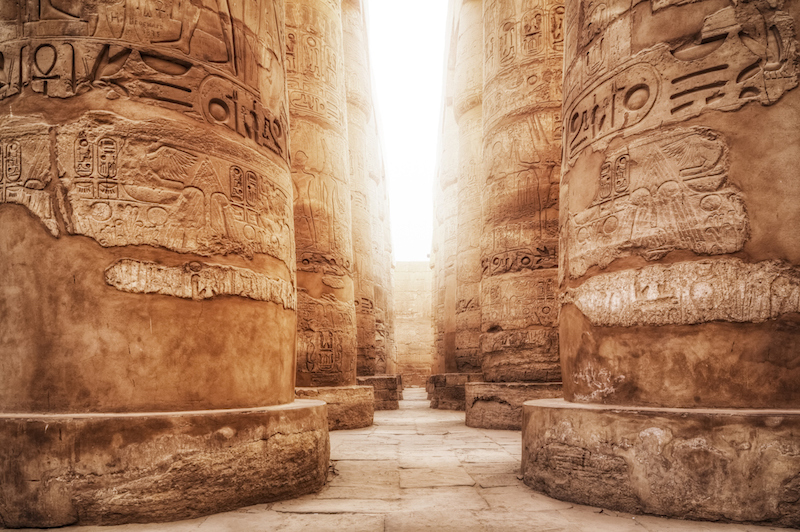 Great Hypostyle Hall / Precinct of Amun-Re ( Karnak Temple Complex )