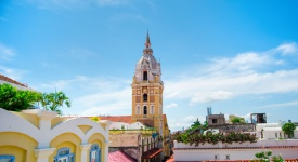 The colorful Carribean city of Cartagena
