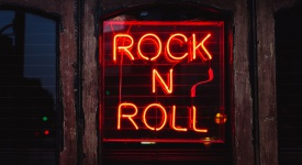Rock'n'roll Music Sign