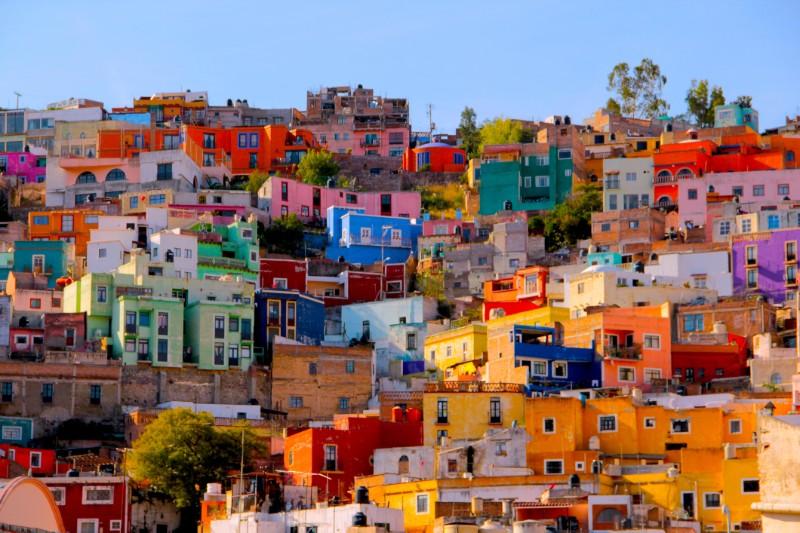mexico, guanajato city
