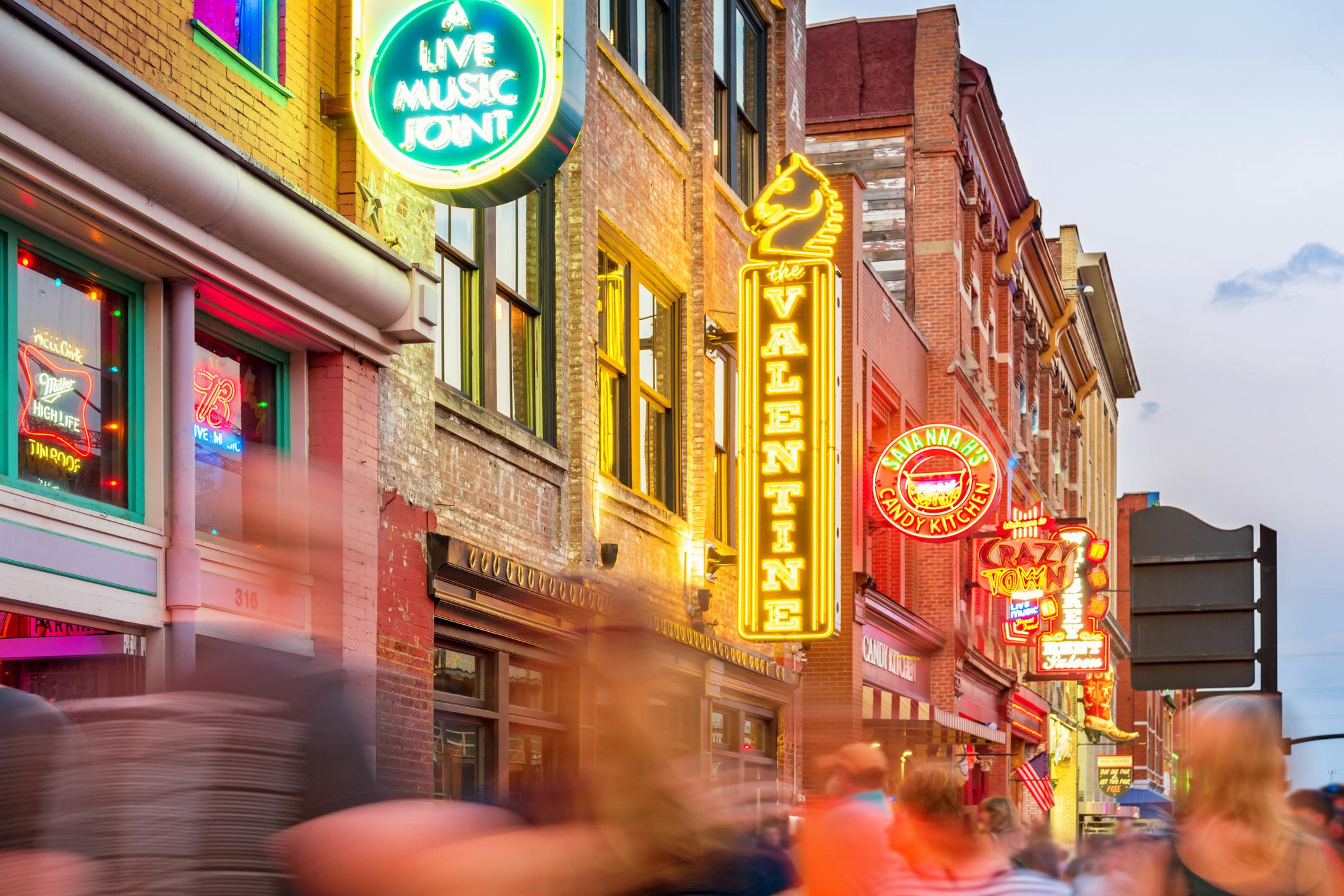 Nashville, Broadway