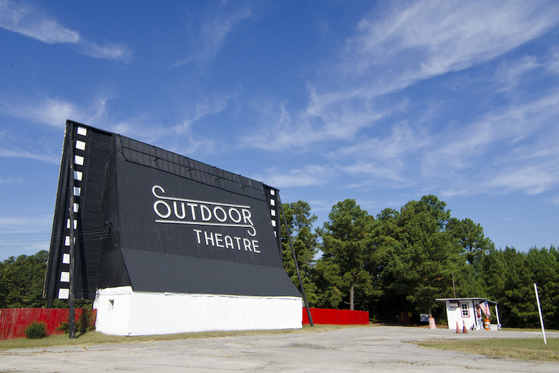 The Outdoor Theatre drive-in in McHenry, IL