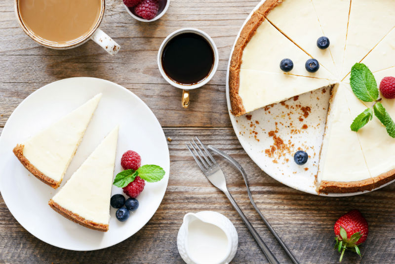 cheesecake, dessert
