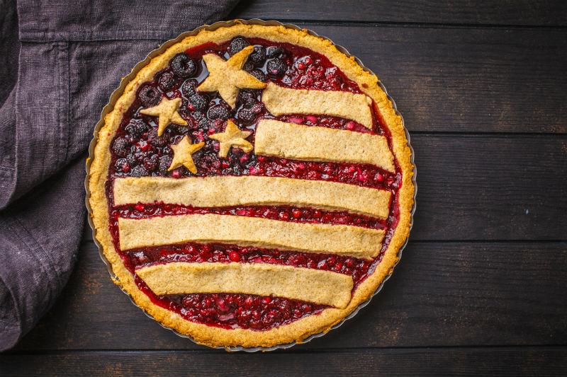 pie, dessert