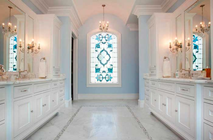 Window Trens: Decorative Glass