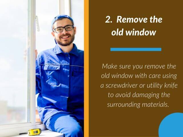 Remove the old window