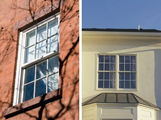 Single Hung or Double Hung Windows